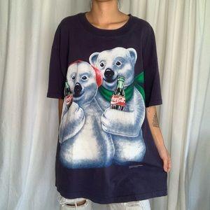 Vintage Coca Cola Bear Friends T-shirt